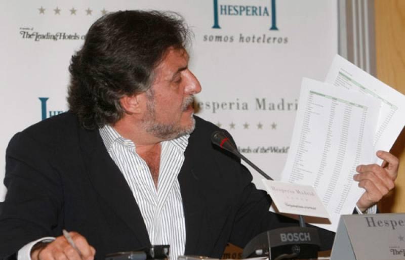 Pepu Hernández ha ofrecido una rueda de prensa.