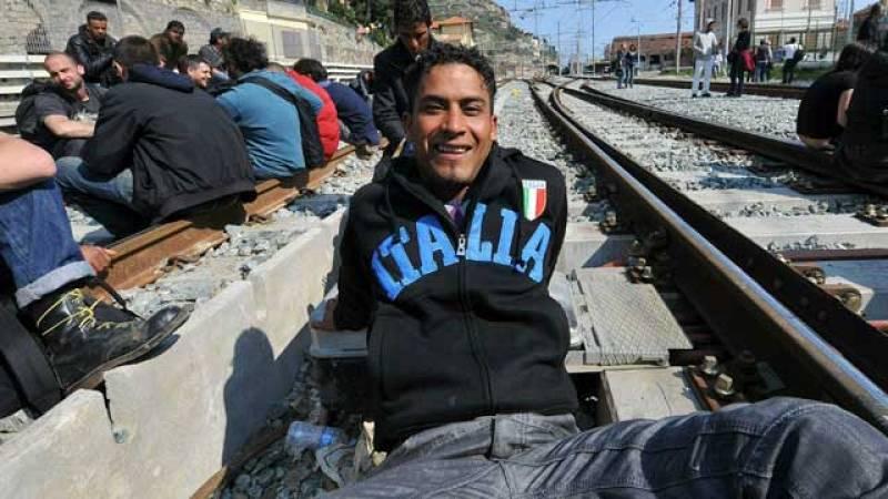 Francia corta la entrada de trenes desde Italia
