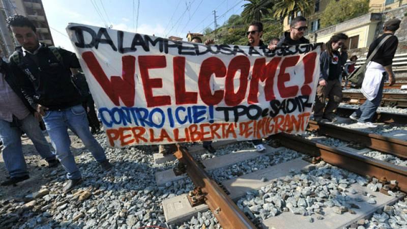 Francia respetará el espacio Schengen pero devolverá a Italia a los inmigrantes sin recursos