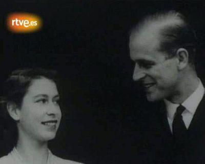 La boda de Isabel II de Inglaterra y el príncipe Felipe