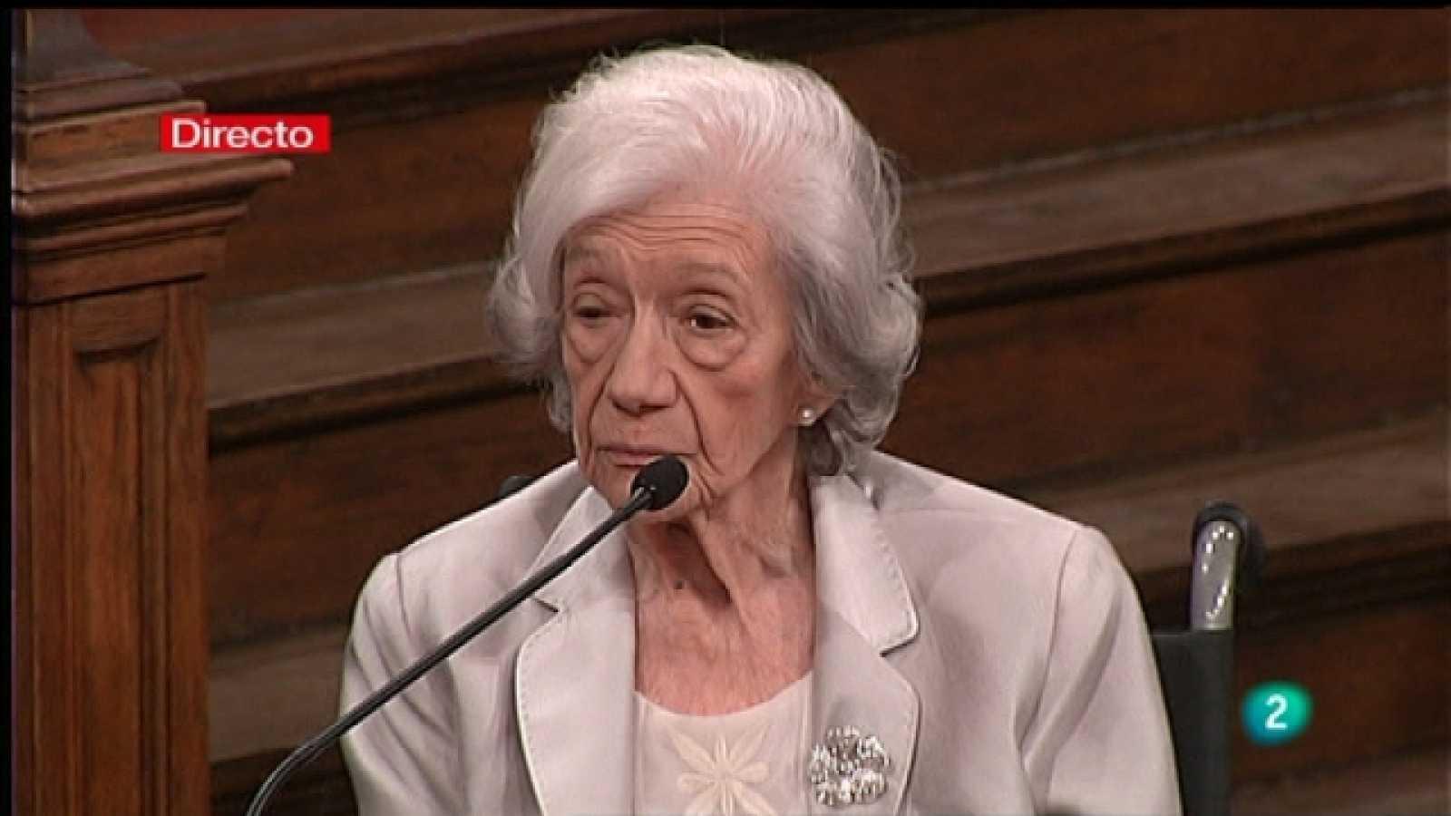 Especiales informativos - Entrega del Premio Cervantes - 27/04/11 - Ver ahora