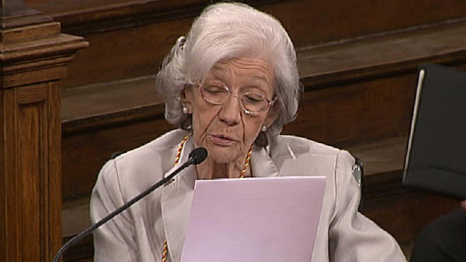 Ana María Matute recibe el premio Cervantes 2010