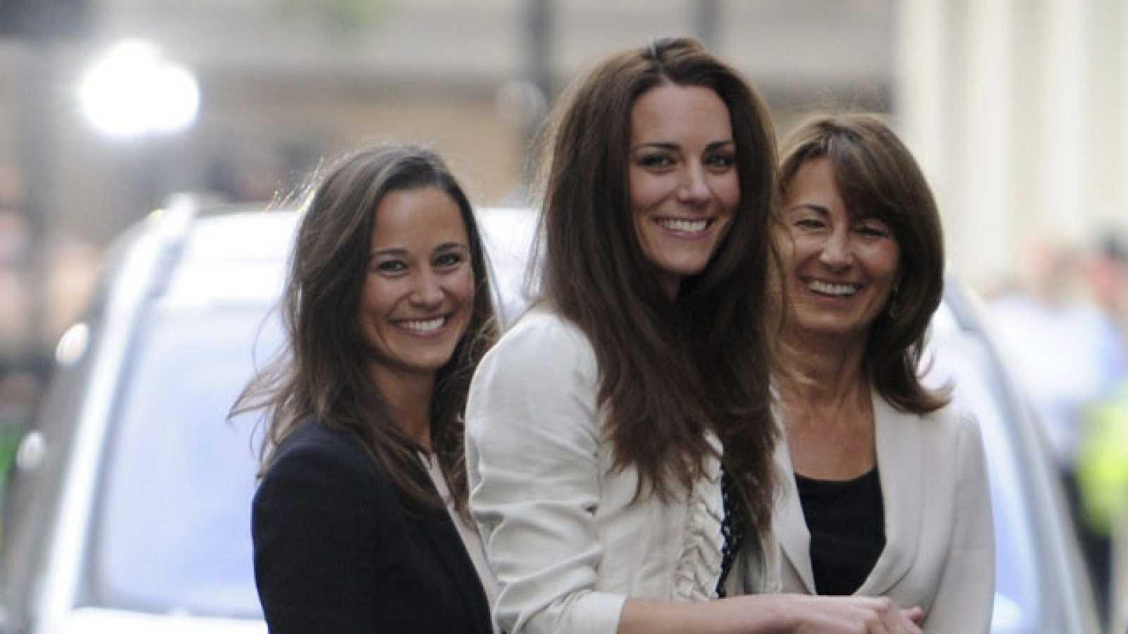 Kate Middleton llega al hotel Goring para pasar su última noche como soltera