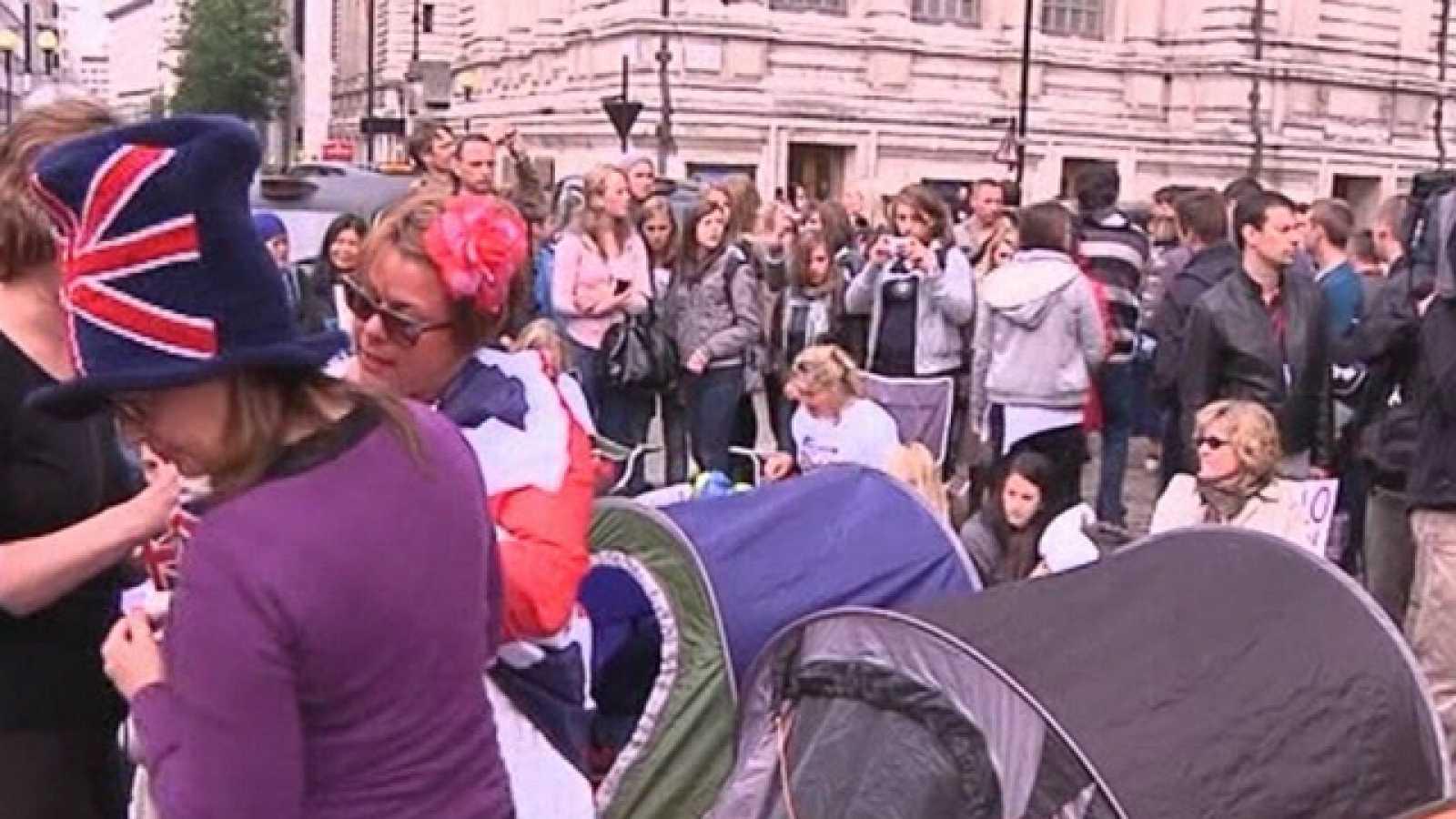 Desde primera hora las medidas de seguridad en los alrededores de Westminster eran extremas