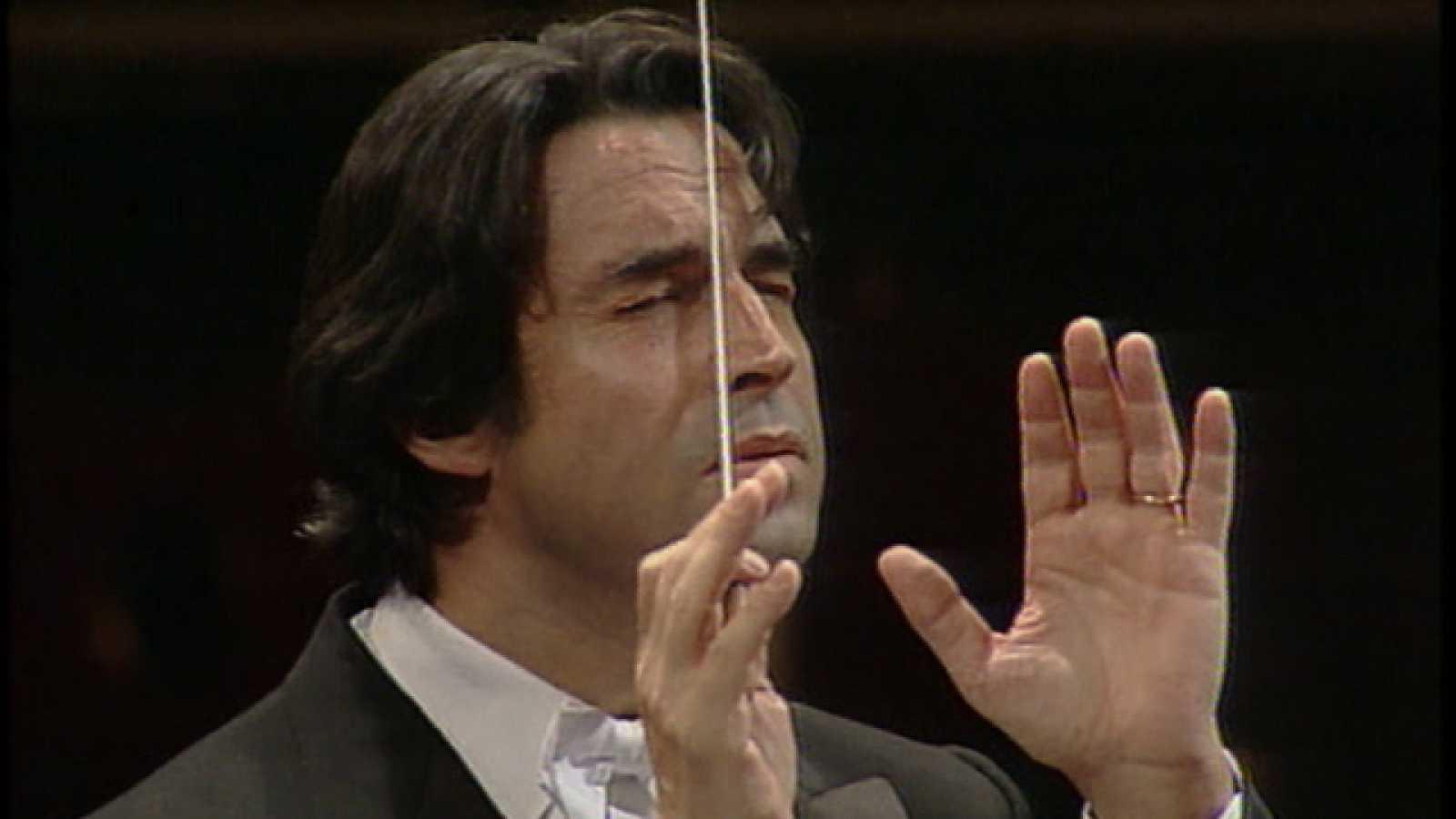 El director de orquesta italiano Riccardo Muti, premio Príncipe de Asturias de las Artes
