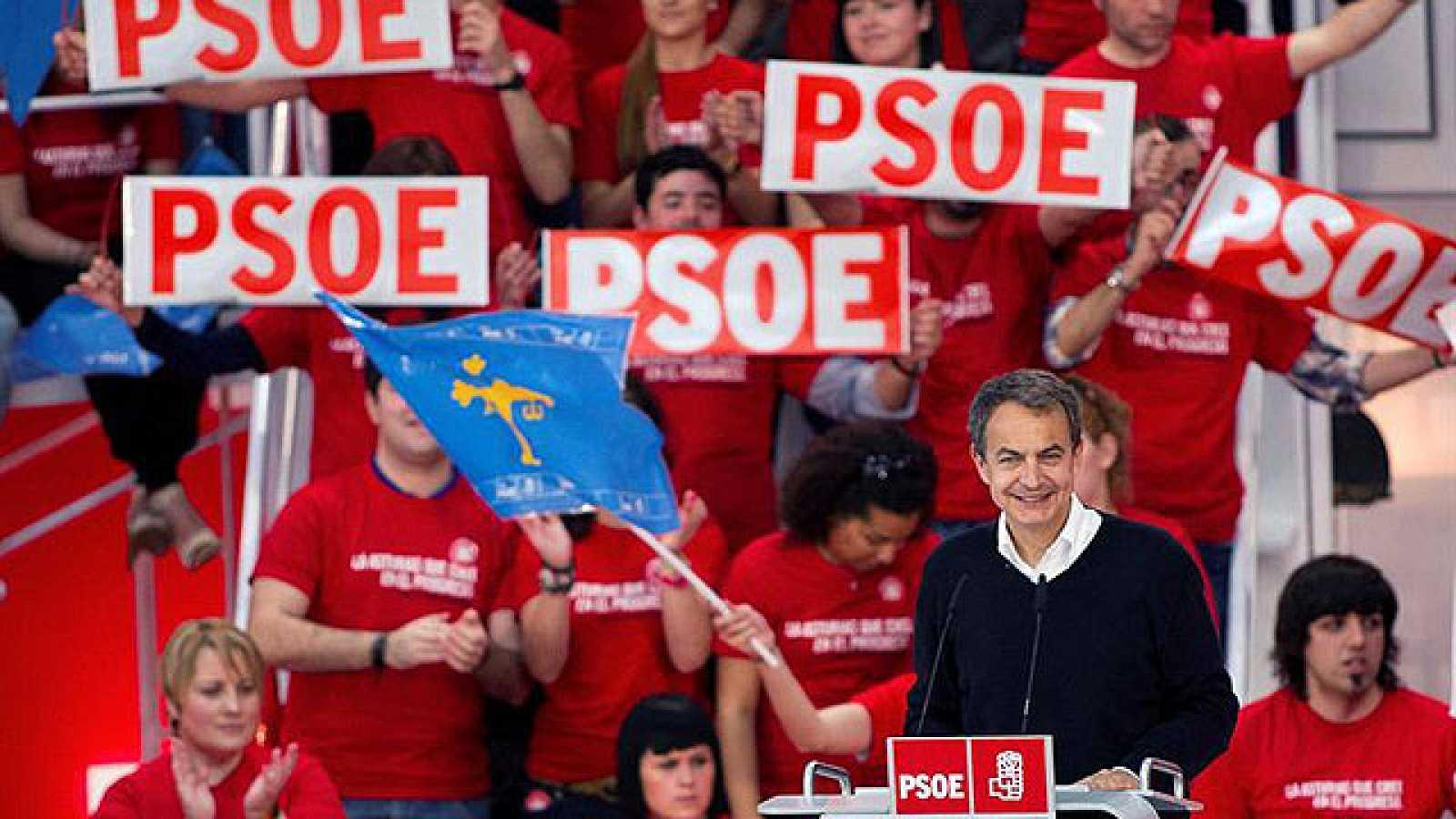 Zapatero califica al PP como la derecha más a la derecha de Europa