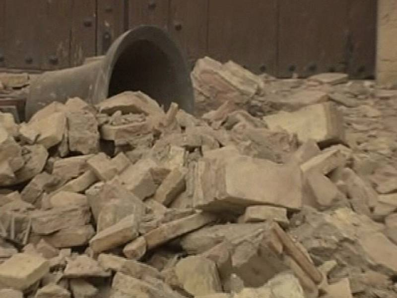 Un doble terremoto en Lorca mata a 4 personas