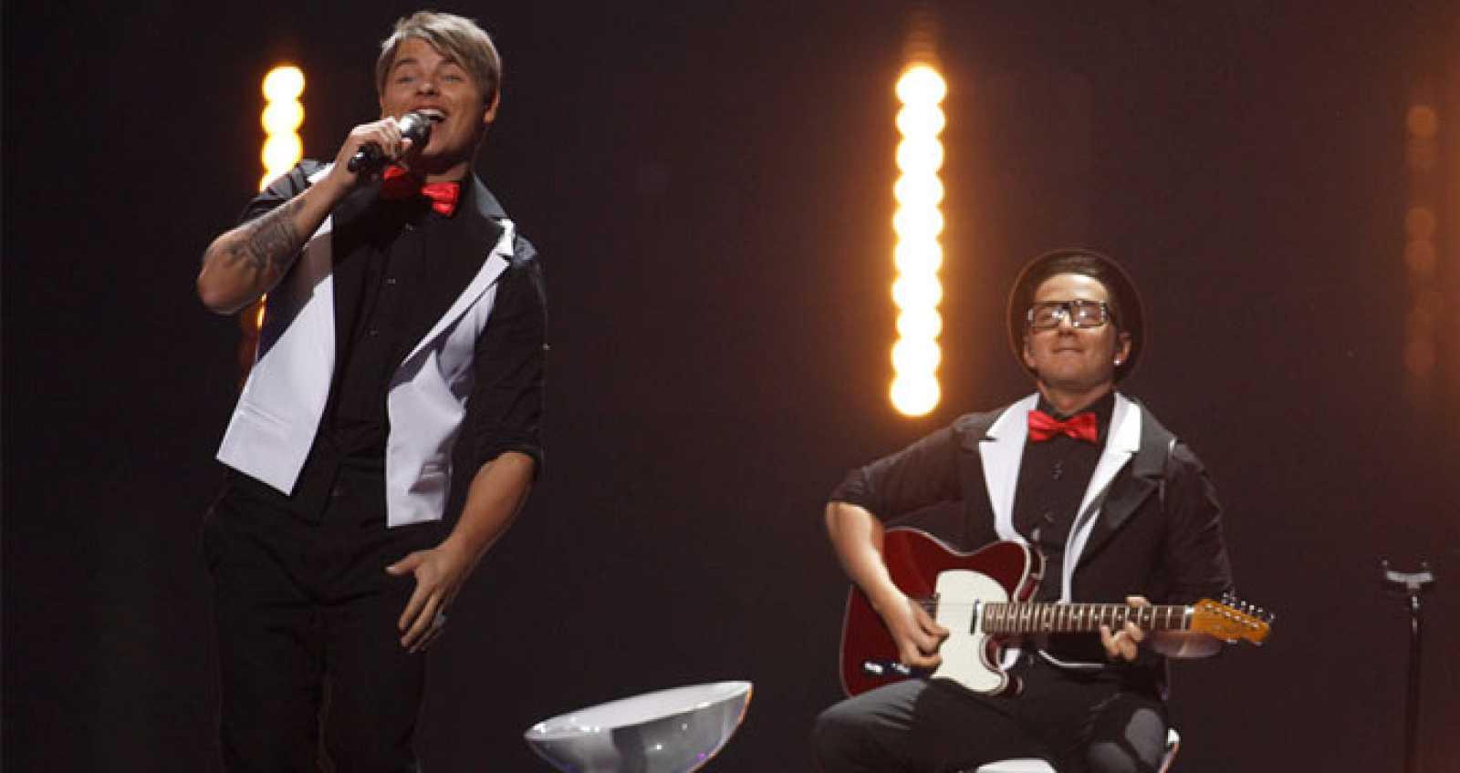 Eurovisión 2011 - 2ª semifinal -  Letonia