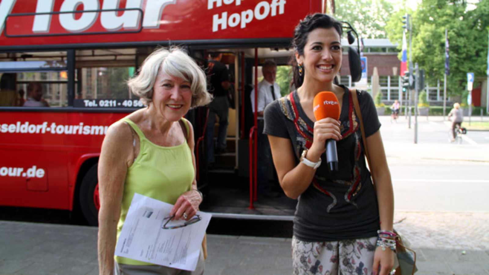 Eurovisión 2011 - Los viajes de Lucía Pérez por Alemania