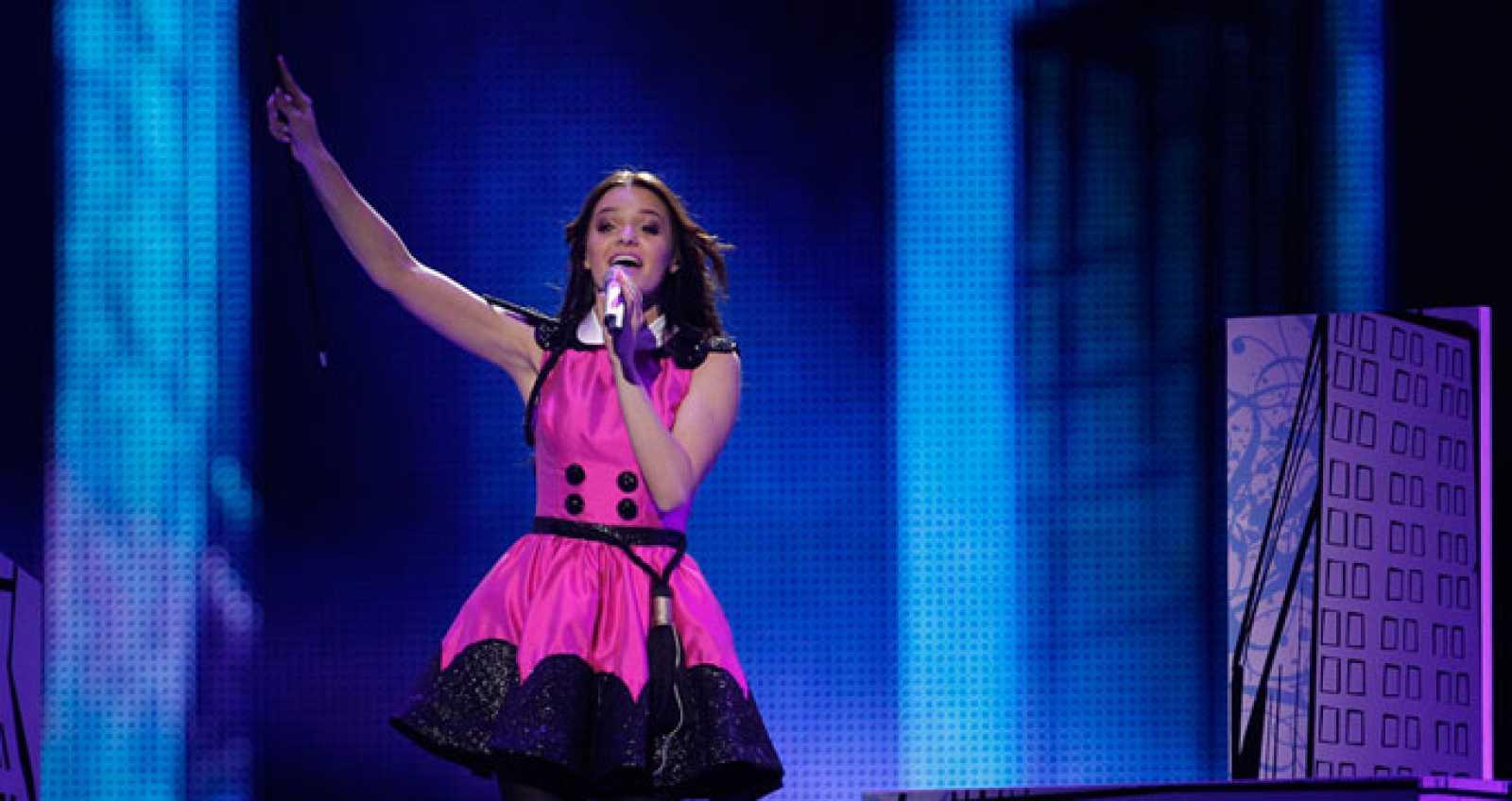 Eurovisión 2011 - 2ª semifinal - Estonia