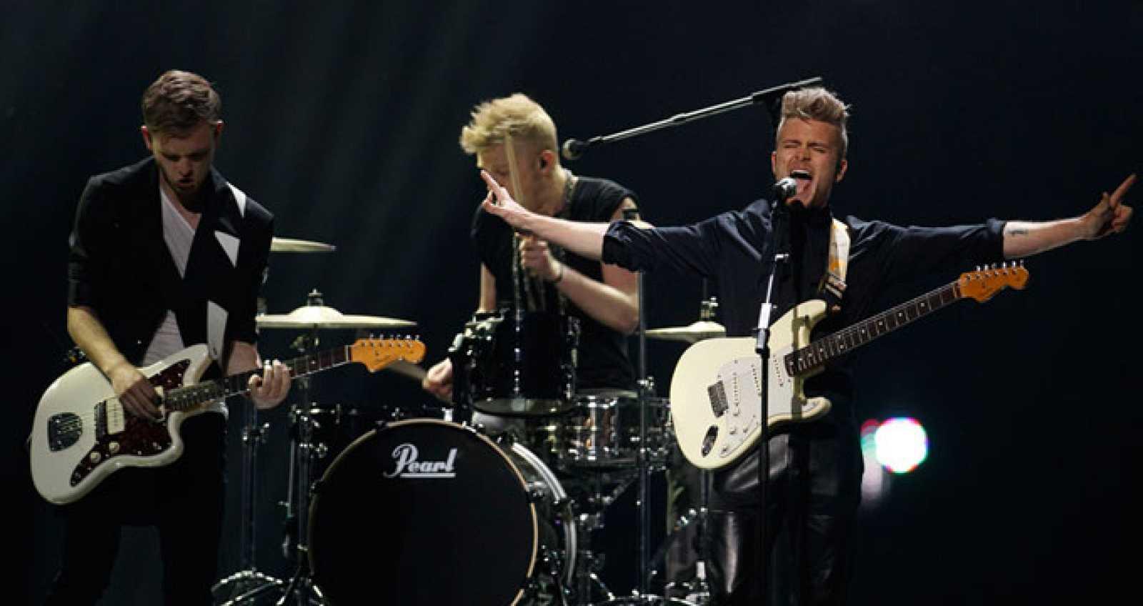 Eurovisión 2011 - 2ª semifinal -  Dinamarca