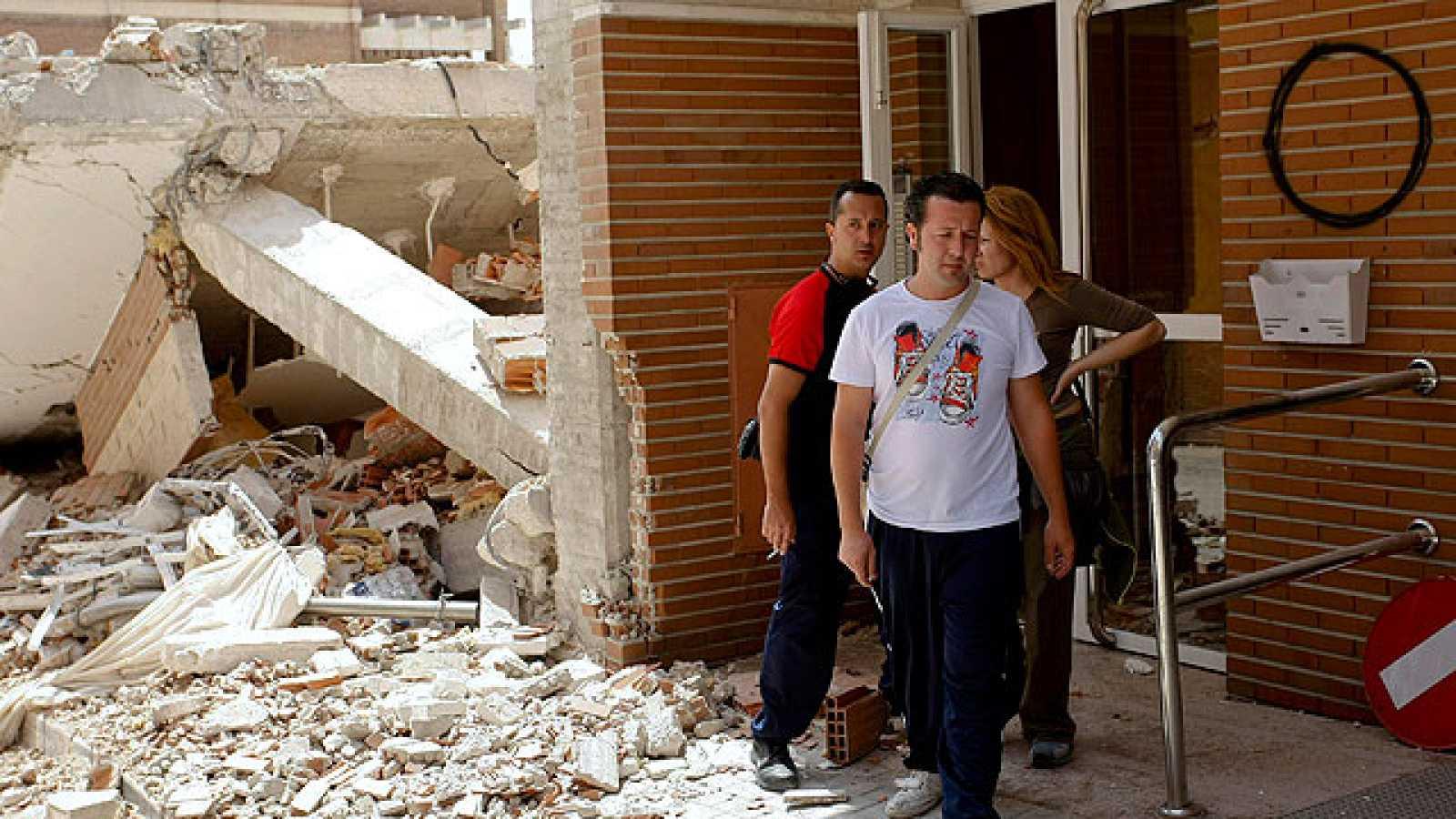 Muchos ciudadanos de Lorca, sin trabajo y sin casa