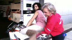 Eurovisión 2011 - Lucía Pérez recibe los consejos de Ángel Nieto