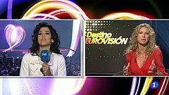 Final Eurovisión 2011 - Conexión en directo con Lucía Pérez antes de la final