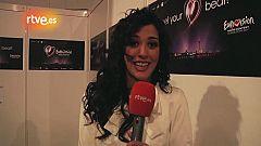 """Eurovisión 2011 - """"Intentaré volver a presentarme a Eurovisión 2012"""""""