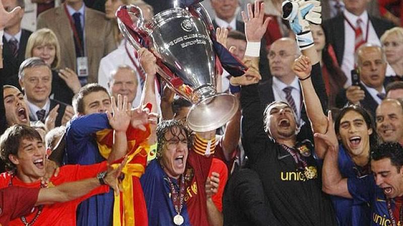 Tercera Champions ganada por el Barça (2009)