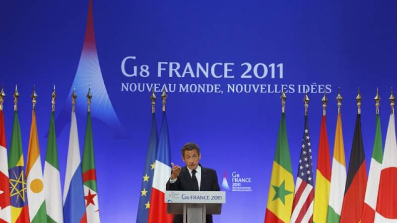 El G-8 acuerda en Francia apoyar la transición democrática en los países árabes