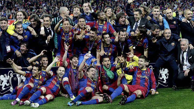 Repasa las mejores jugadas que ha dejado la final de la Champions League entre el FC Barcelona y el Manchester United.