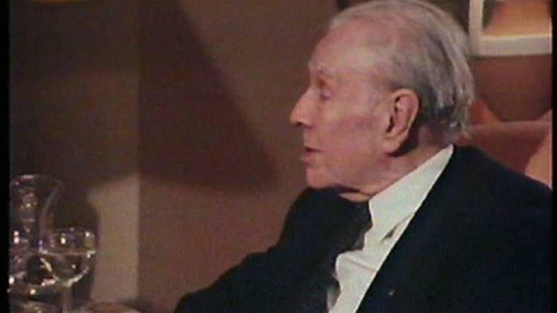 Homenaje a Borges en 'Punto de encuentro' (1986)