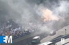 Esta mañana - 20 toneladas de jurel para protestar por la subida del precio del gasóleo