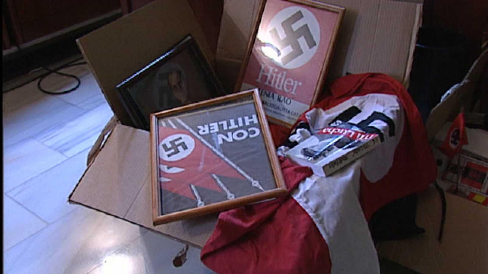 Los magistrados del Supremo dicen que no es delito difundir ideas nazis si no incitan a la violencia