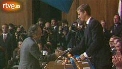 Antonio López rememora la recepción del Premio Príncipe de Asturias de las Artes en 1985