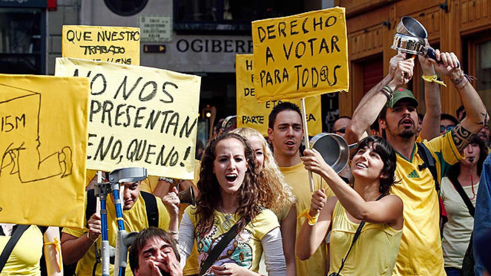 El movimiento 15M ha estado muy presente al constituirse los ayuntamientos