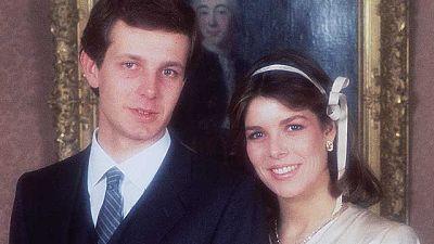 Carolina y Stefano Casiraghi