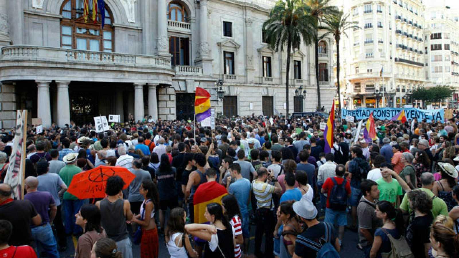 Protestas del Movimiento 15 M por toda España