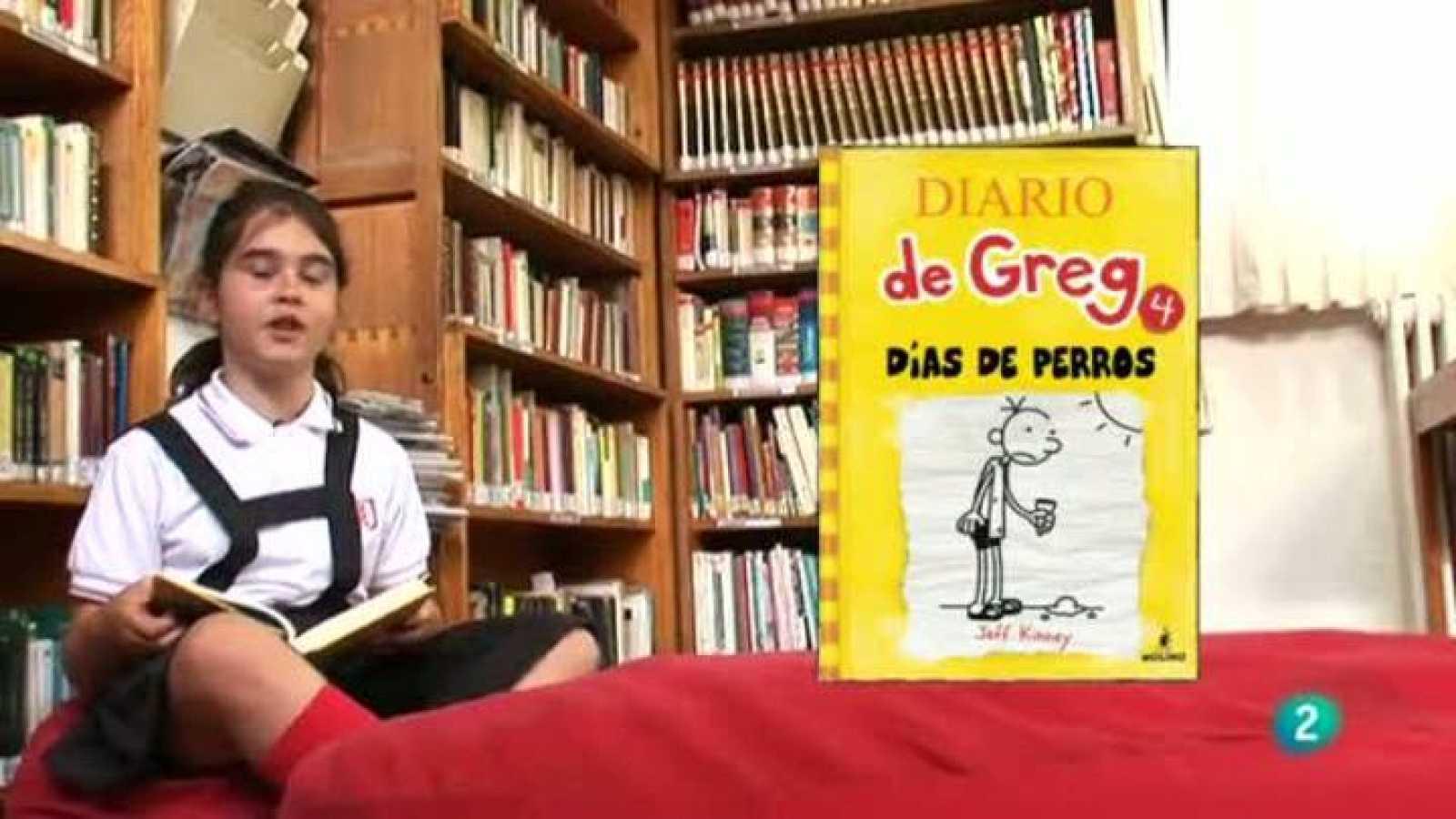 """Página 2 - Miniclub de lectura: Diario de Greg """"Días de perros"""" de Jeff Kinney"""