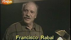 Perfil de Francisco Rabal (1989)