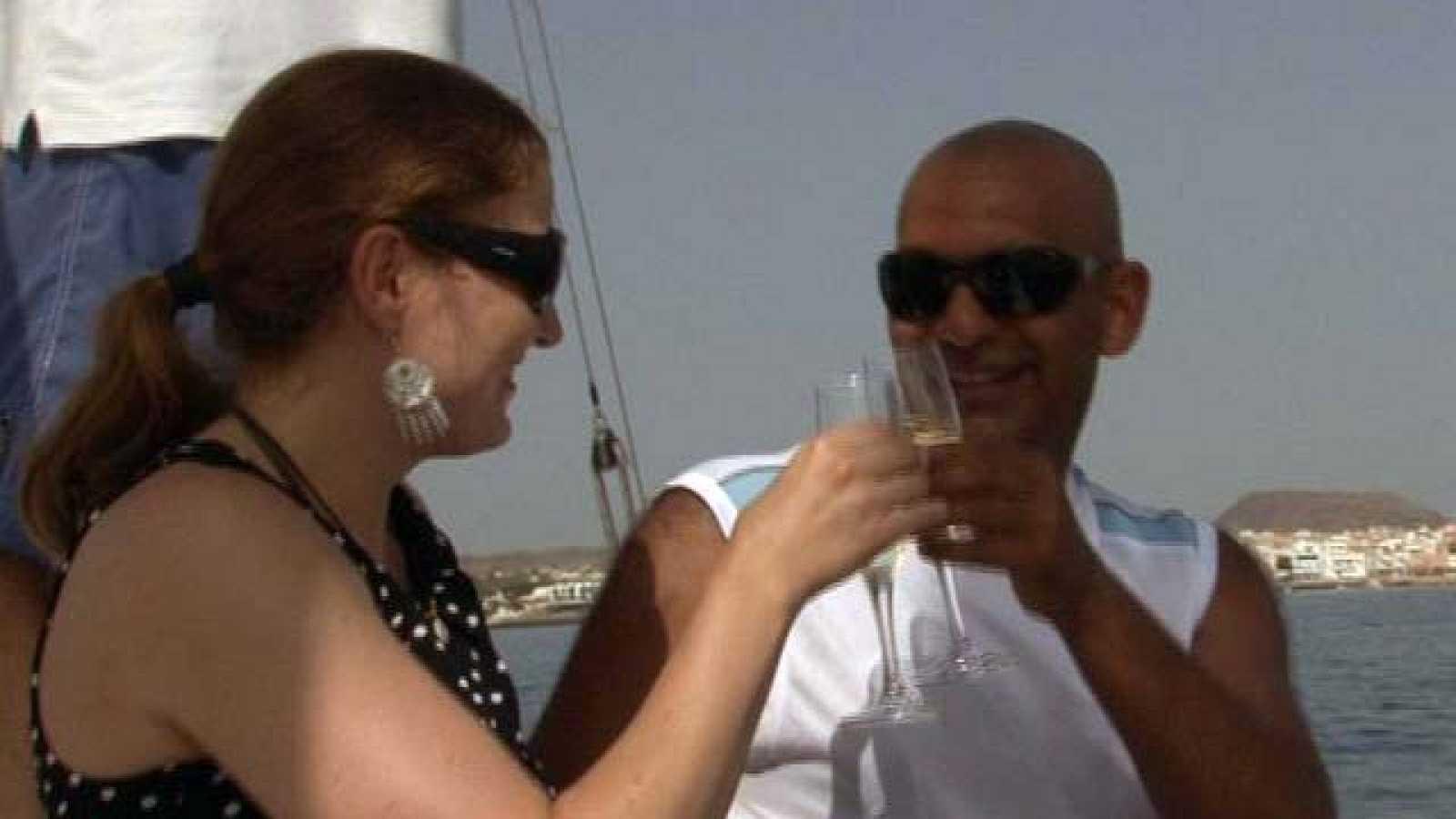 En familia - En la playa - Amor interracial