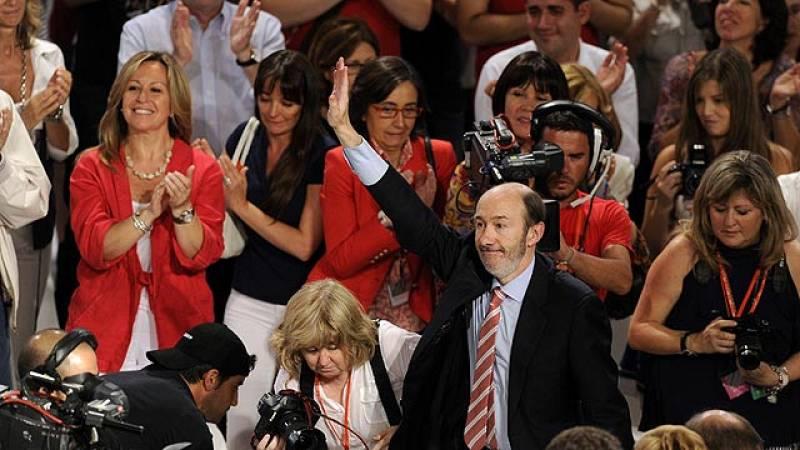 Discurso íntegro de Rubalcaba en su proclamación como candidato socialista