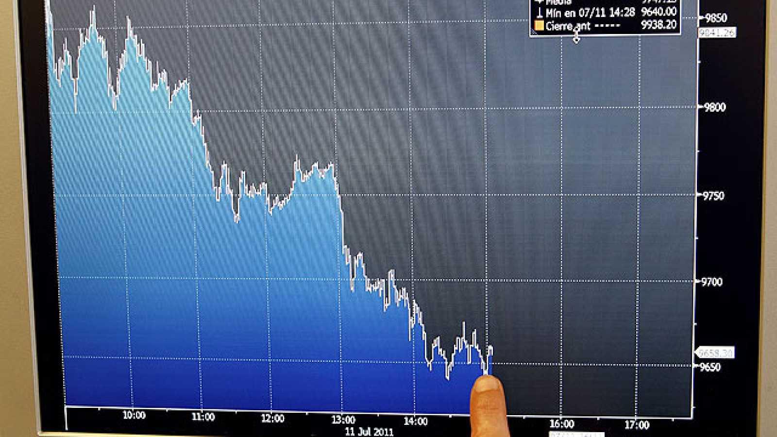 Las dudas sobre Italia llevan a la prima de riesgo española a su récord y hunden a las Bolsas