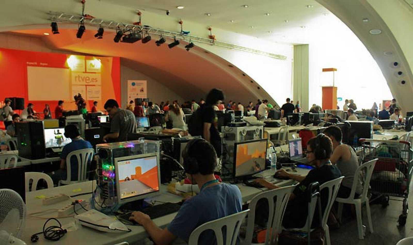 Arranca la decimoquinta edición de la Campus Party