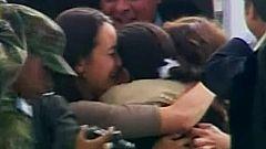 Ingrid Betancourt se reencuentra con sus hijos