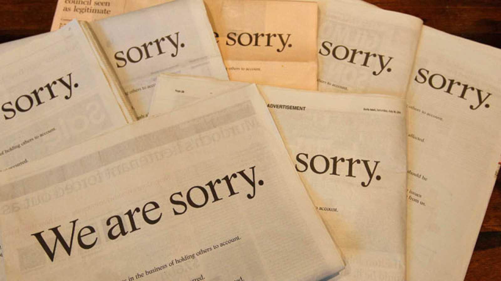 Murdoch pide perdón mediante una carta personal publicada en prensa