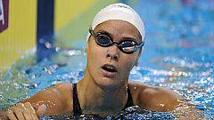 Mercedes Peris, octava en 50 metros espalda