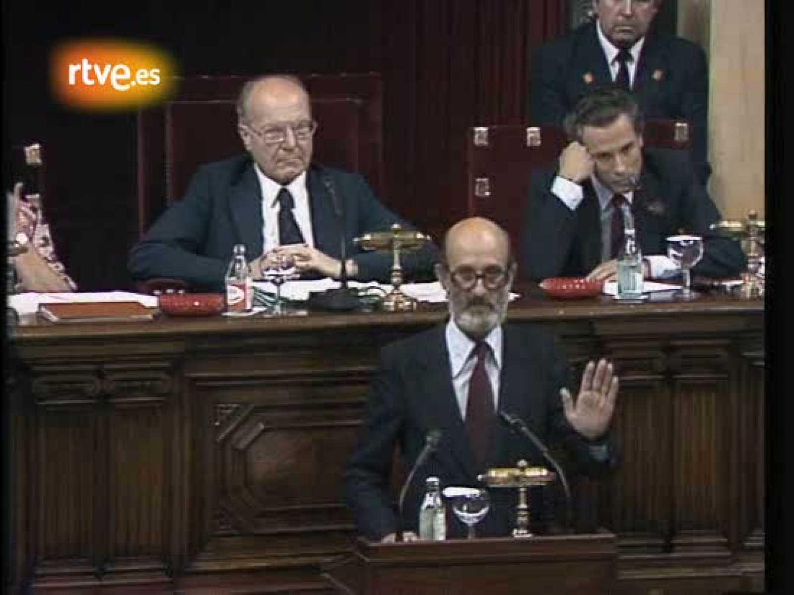 En memòria d'Heribert Barrera: una sessio del Parlament el 1980