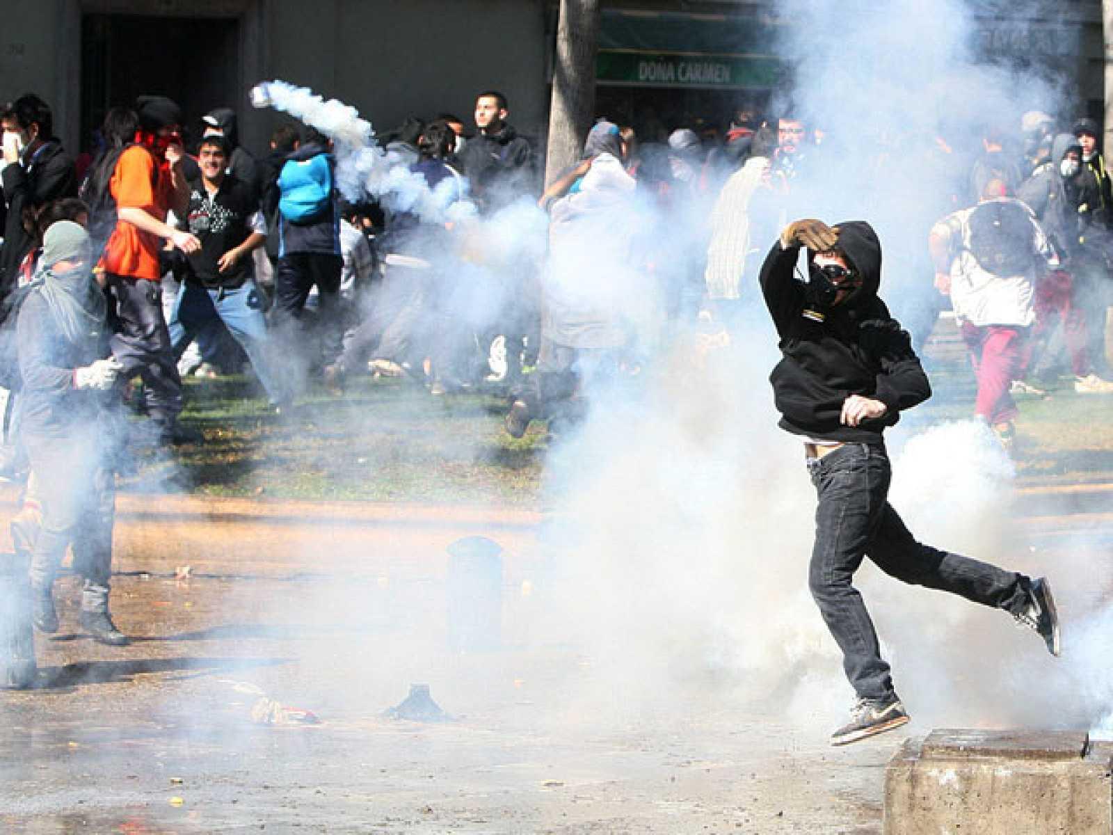 Chile vive una jornada de protestas por una educación gratuita