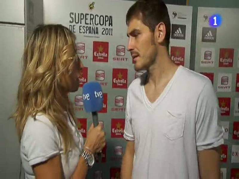 """Casillas:""""Es un jarro de agua fría"""""""
