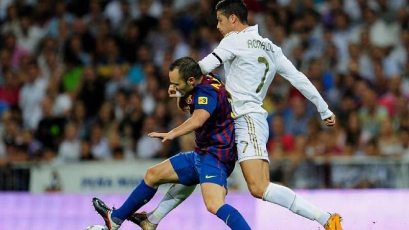 Resumen del partido de ida de la Supercopa de España 2011. Empate entre Madrid y Barça en el Bernabéu en un partido con espectáculo y goles
