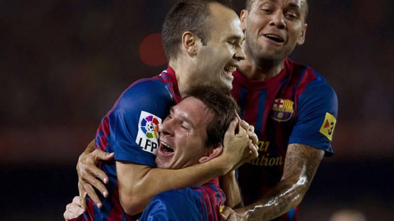 Messi anota el 2-1
