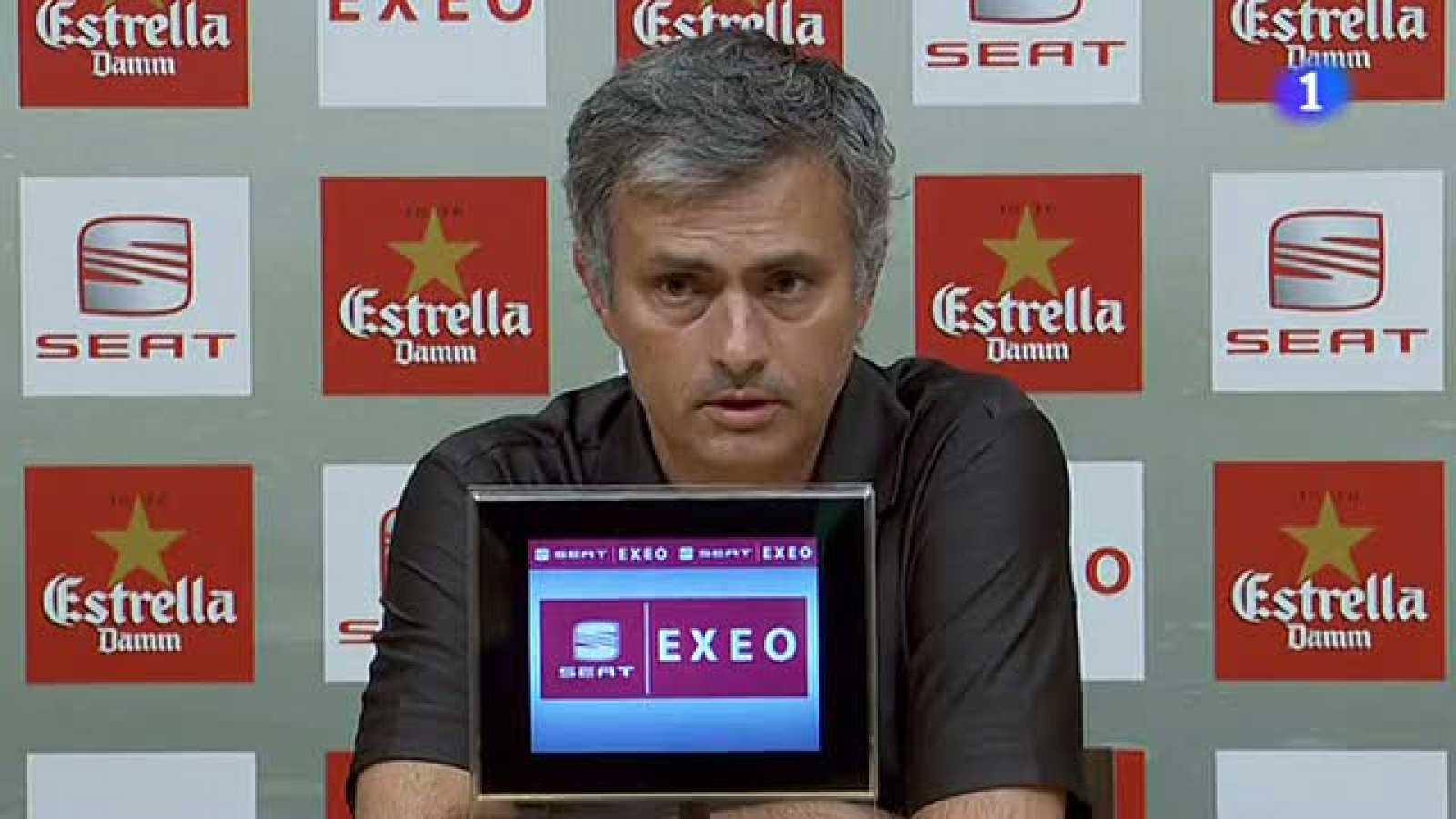 Mou satisfecho con el Madrid