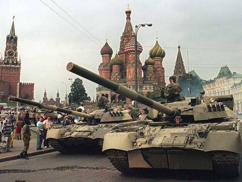 Un golpe militar del aparato comunista derriba a Gorbachov