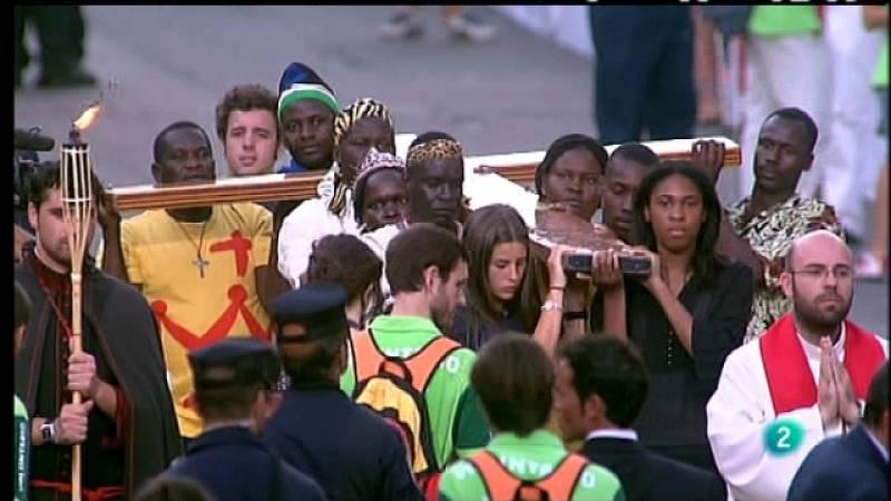 El día del señor - Especial visita S.S. el Papa Benedicto XVI - Via Crucis desde Cibeles - 19/08/11 - Ver ahora