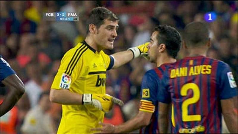 Casillas ha hablado con Xavi y Puyol