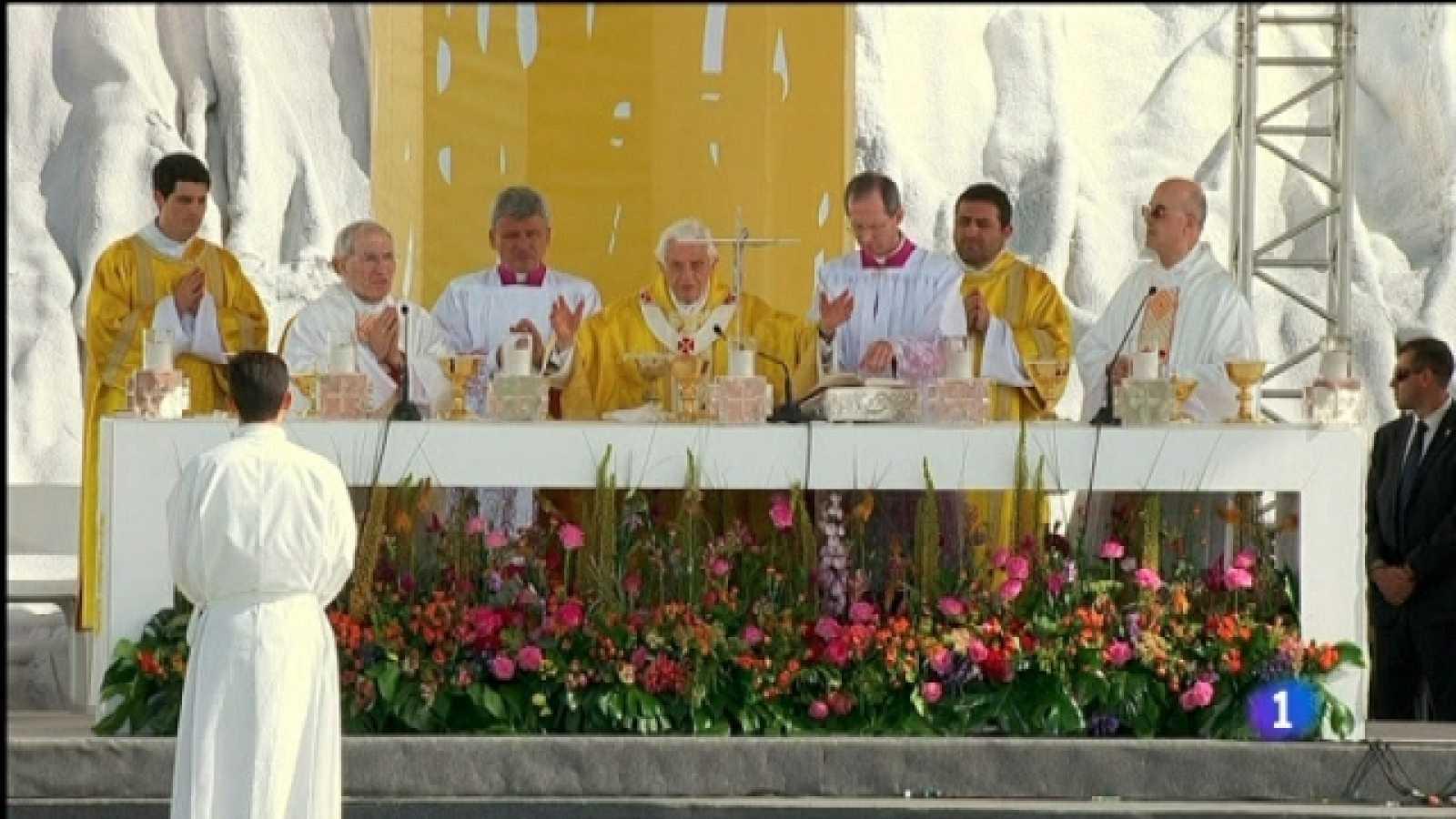 El día del señor - Especial visita S.S. el Papa Benedicto XVI - Misa desde el aeródromo de Cuatro Vientos - 21/08/11 - Segunda parte - Ver ahora