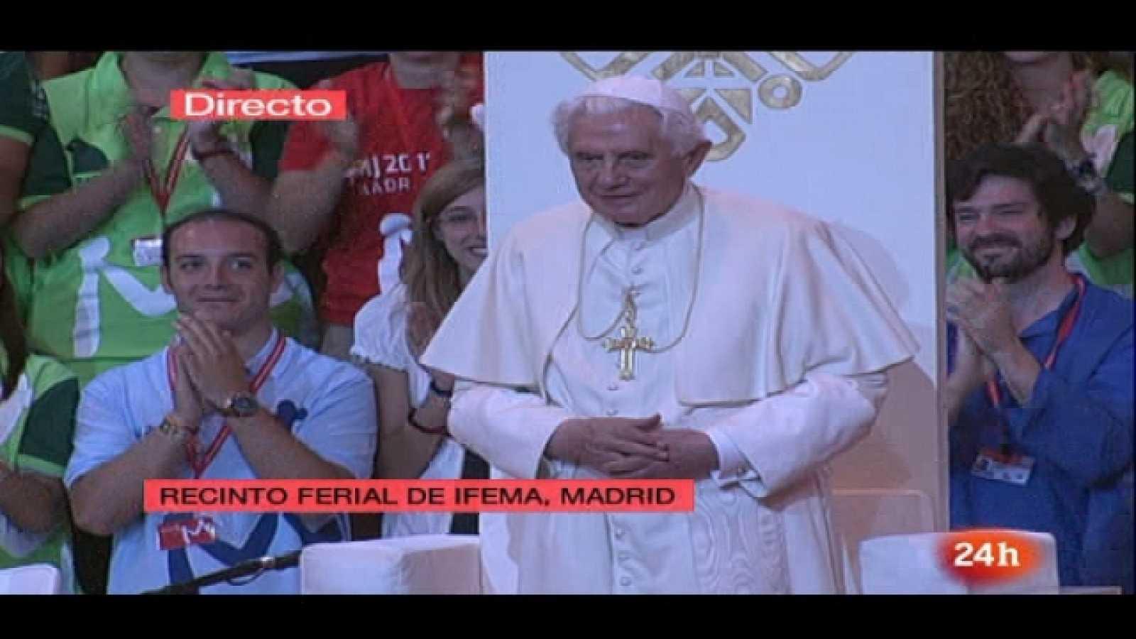Especial informativo - Visita de S.S. el Papa Benedicto XVI - 21/08/11 - Ver ahora
