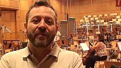'Lobos de Arga'. Acompañamos al compositor, Sergio Moure, a grabar la banda sonora en Bulgaria
